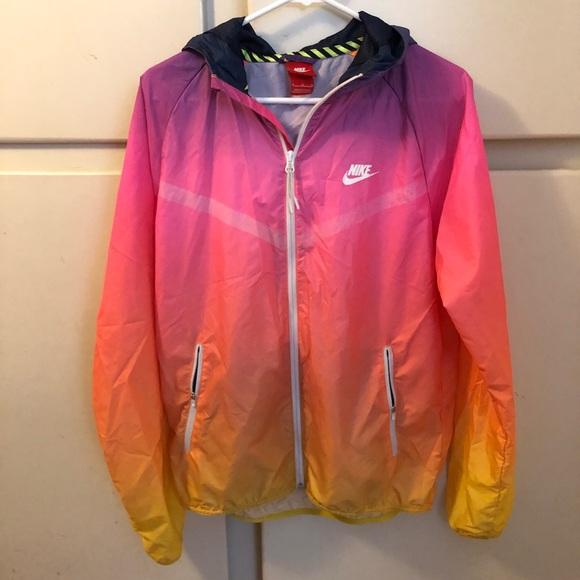 78e112b3a9aa SALE🔥 Rare Nike Ombré Windbreaker Jacket. M 5a561dad00450f03fa0058dc